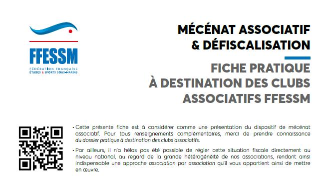MÉCÉNAT ASSOCIATIF & DÉFISCALISATION